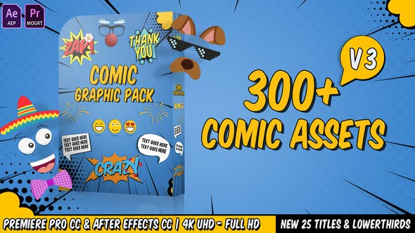 Comic FX / Speech Bubbles Graphic pack - 6