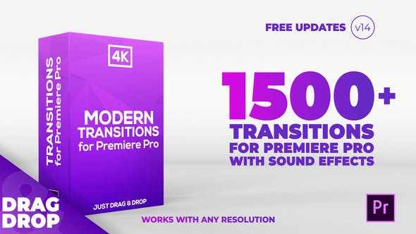 Modern Transitions | For Premiere PRO by CandyMustache
