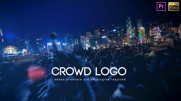 Crowd Logo - Premiere Pro by bank508 | VideoHive