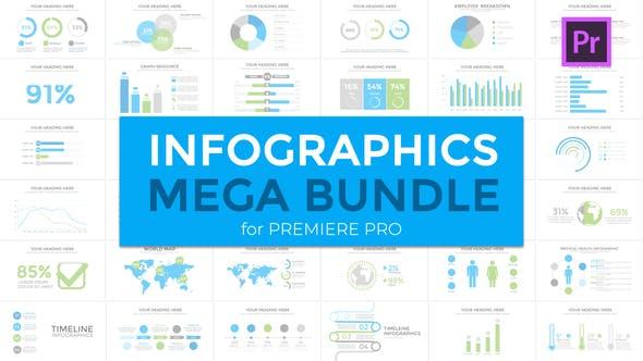 Infographics Mega Bundle - VideoHive product image