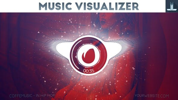 Audio React Parallax Music Visualizer by LLmotion | VideoHive