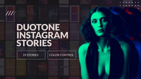 Duotone Instaram Stories and IGTV by alexeguy   VideoHive