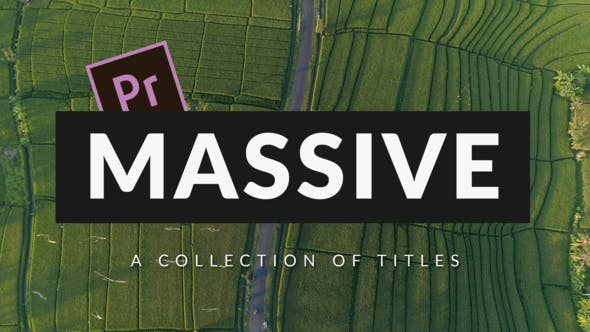 Massive v2 | Titles Pack For Premiere Pro and After Effects - VideoHive product image