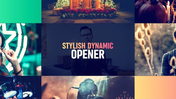 Videohive Stylish Dynamic Opener 23586497 Free