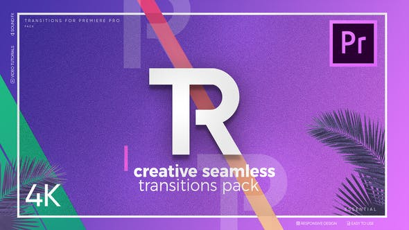 Creative Seamless Transitions for Premiere Pro by Jeyframe | VideoHive
