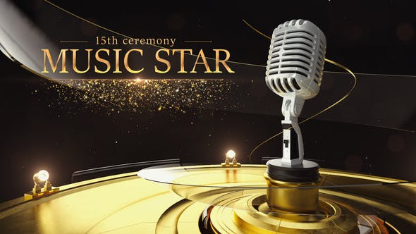 Videohive Music Star Opener Free Download