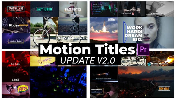 Motion Titles by MotionPhysics | VideoHive