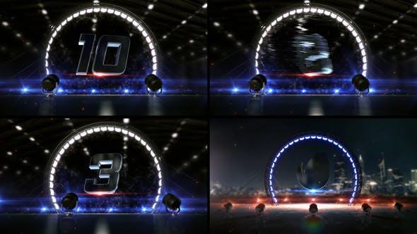 Circle Light Countdown