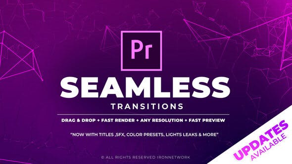 700+ Pack: Transitions, Light Leaks, Color Presets, Sound FX - VideoHive product image