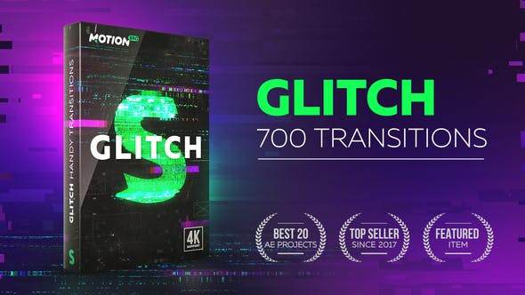 Glitch Transitions by videolancer | VideoHive