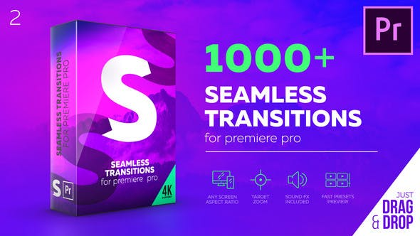 Seamless Transitions for Premiere Pro by videolancer | VideoHive