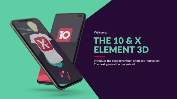 The 10 & X for Element 3D