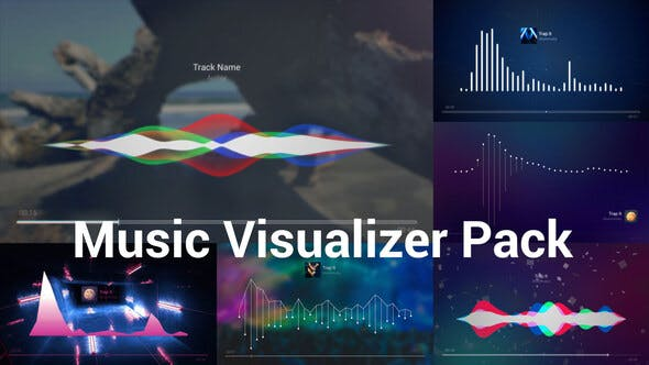 Music Visualizer Pack by Light-Studio | VideoHive