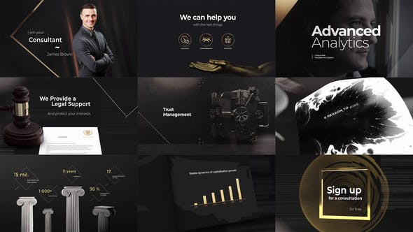 Consulting Presentation by dolunin | VideoHive