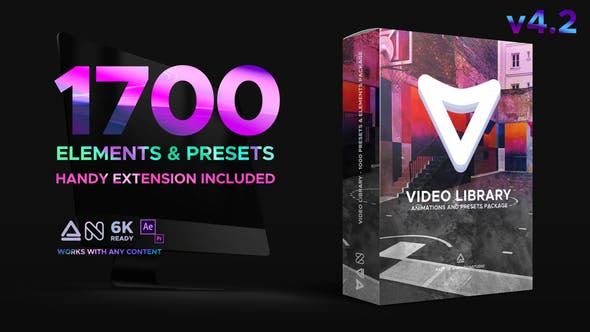 Video Library - Video Presets Package by nitrozme | VideoHive