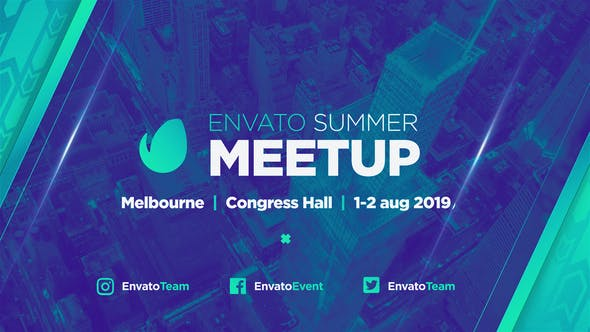Videohive Biggest MeetUp // Event Promo Free Download