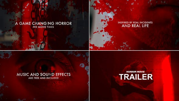 Horror Movie Trailer by swati_creations | VideoHive