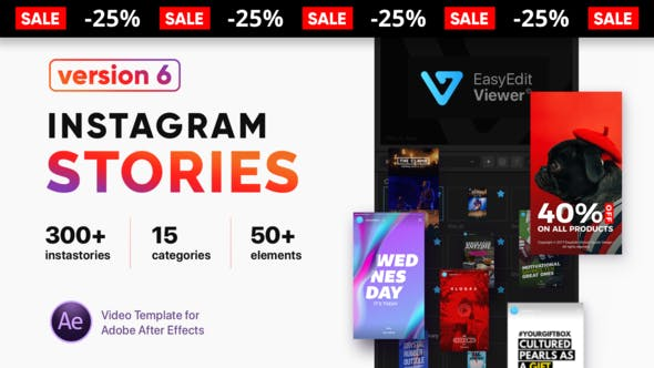 Instagram Stories After Effects Templates-Free Download