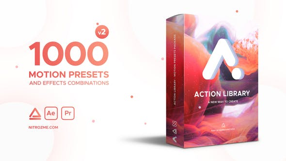 Action Library - Motion Presets Package by nitrozme | VideoHive