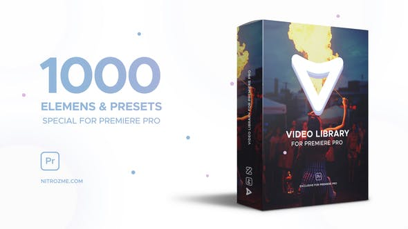 Video Library for Premiere Pro by nitrozme | VideoHive