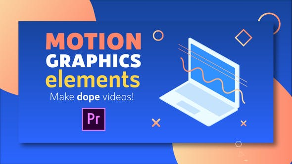 Motion Graphics Elements Pack | MOGRT for Premiere Pro by CandyMustache