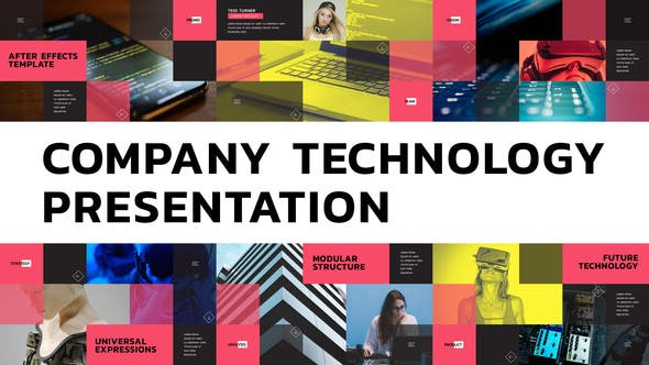 Videohive Company Technology Presentation Free Download