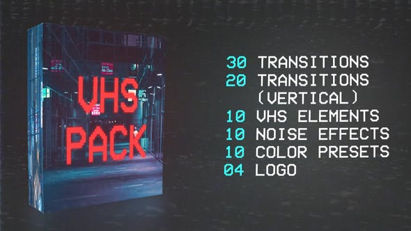 Vhs Transition Video Effects & Stock Videos from VideoHive