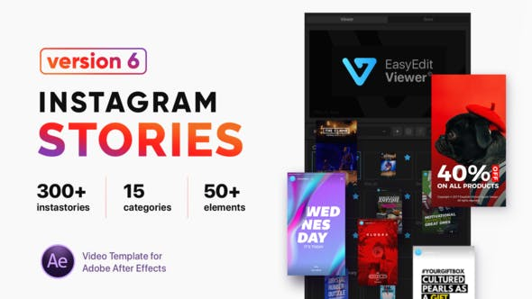 Instagram Stories by EasyEdit | VideoHive