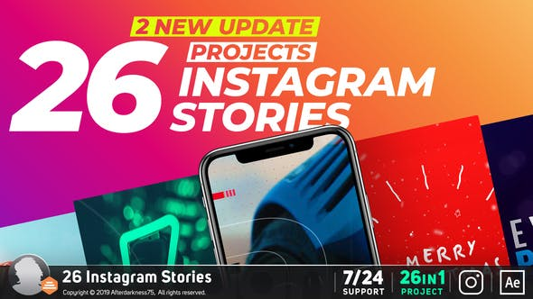 Instagram Stories by Afterdarkness75 | VideoHive