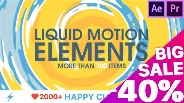 Liquid Motion Elements by TRMG   VideoHive