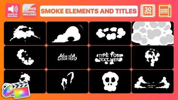 Smoke Elements   Final Cut Pro by 2DFXAnimation   VideoHive