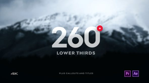 Videohive Clean Lower Third – After Effects Project Free Download