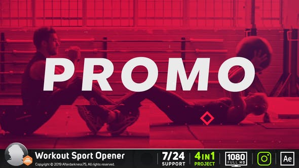 WORKOUT SPORTS OPENER