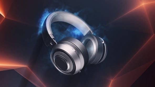 Headphones Logo by Voxyde | VideoHive