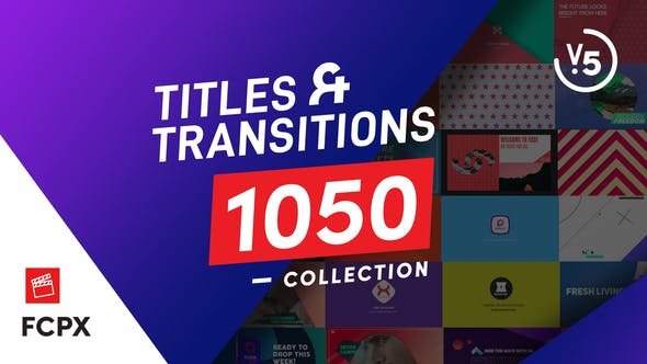 FCPX Titles & Transitions by vystina | VideoHive