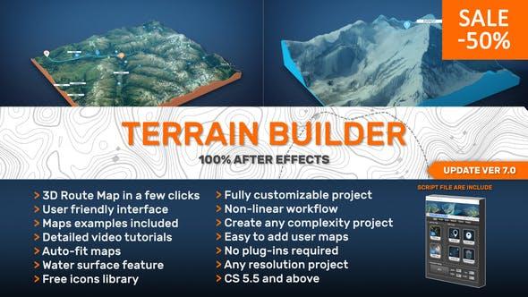 Terrain Builder 7 0 by Prizrak_kd | VideoHive