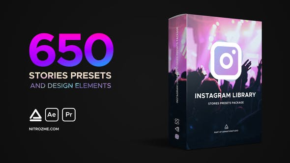 Instagram Library - Stories Presets Package by nitrozme