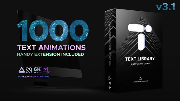Text Library - Handy Text Animations by nitrozme | VideoHive