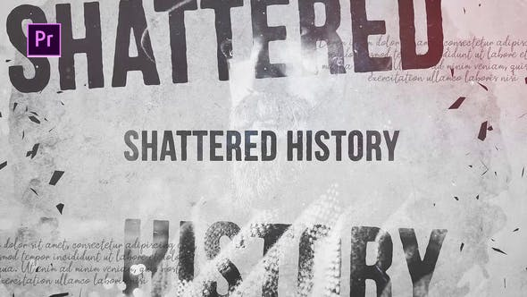 Shattered History by Media_Stock | VideoHive