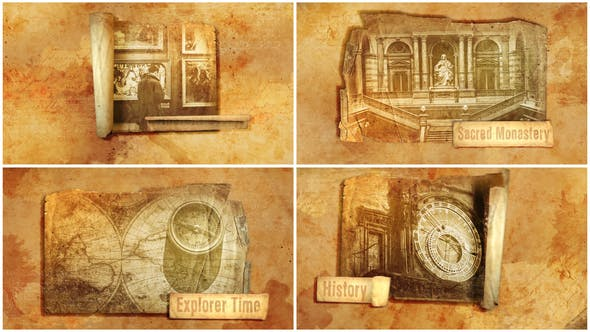 Ancient/History Unfold Project by Madness_Pro | VideoHive