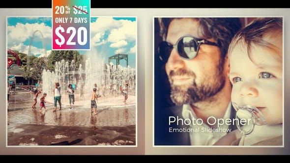 Photo Opener - Emotional Slideshow by F-I | VideoHive