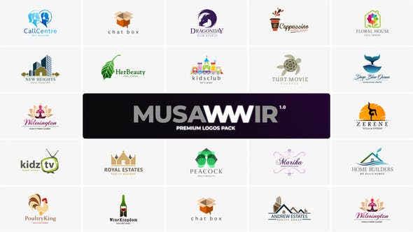 Premium Logos Pack by MotionMount   VideoHive