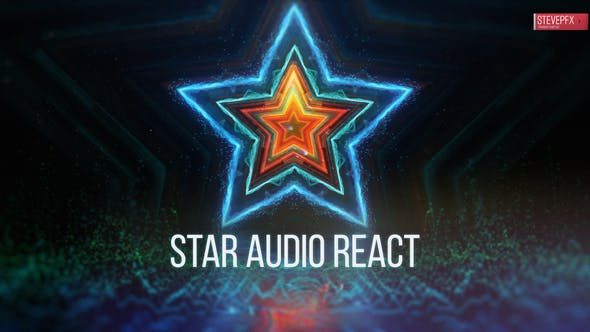 Star Audio React by stevepfx | VideoHive