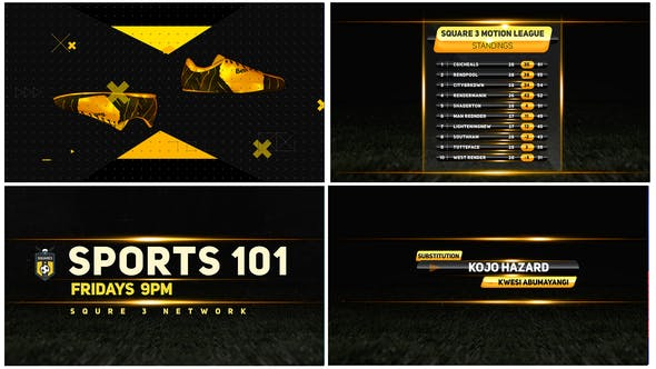 Videohive Sports Broadcast 4k Free Download