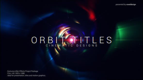 Orbit Cinematic Titles by voxeldesign | VideoHive