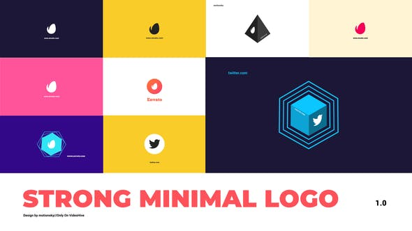 VideoHive | Strong Minimal Logo