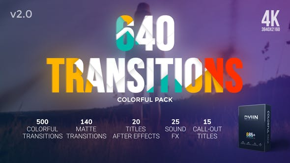 Videohive Transitions v2 20546823 Free Download