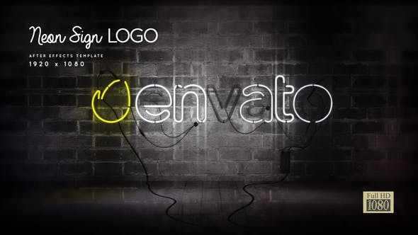 Videohive Neon Sign Logo Free Download