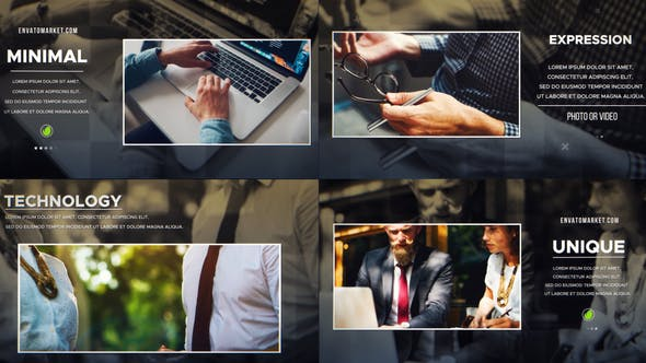 Videohive Elegant Business Slideshow 24757350 Free