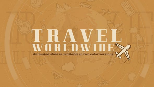 Videohive Travel Worldwide Free Download